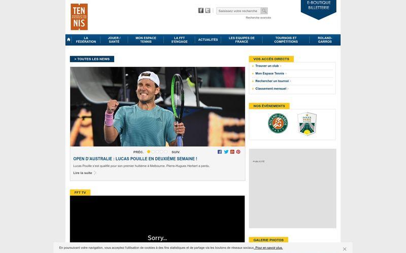 Le tennis, un sport réservé à tous