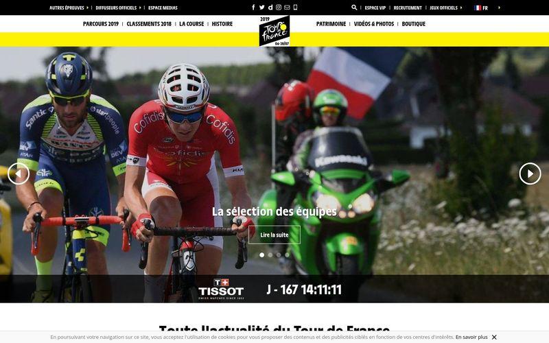 Cette année encore, suivez le Tour de France